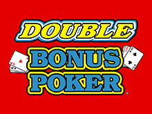 Азартный автомат казино Вулкан Double Double Bonus Poker